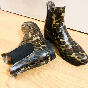 Ralph Lauren cheetah Rainboots!